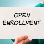 November 1 is the first day of Open Enrollment!